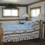 """Silver Spur"" room - one of several in a converted barn"