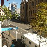 View along Upper Edward Street