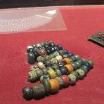 Beads recovered from the site