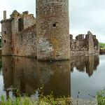 Squelching at the edge of the moat
