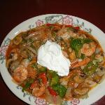 Arroz Camarones (rice with shrimp)