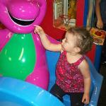 my daughter and barney