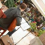 Live Music on the Patio in the Summer