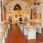 Snapshot of the upstairs gallery
