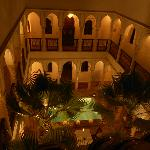 Riad (from the roof terrace)