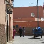 Riad entrance (street)