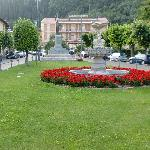 vista dell'Hotel dalla piazza