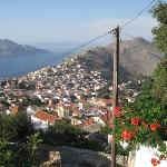 View from Sevasti Symi Hotel and Studios