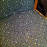 Stains on the chair
