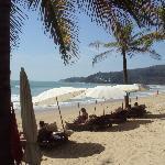 Beach outside Sunprime Resort