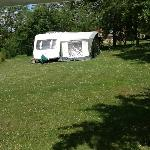 ANOTHER CAMPER APPEARS ON SITE