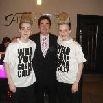 Jedward have been a few times..