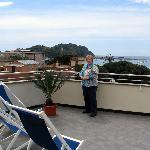 Genova Hotel rooftop terrace