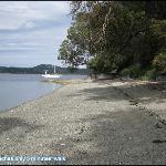 A beautiful beach 5 minutes away