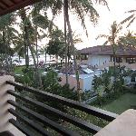 view from balcony - superior room