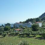 Hotel Mendi, view from the hill