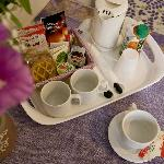 Colazione self service- self catering breakfast