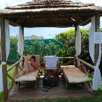 Our personal cabana