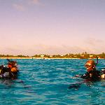 """""""Long Caye Wall"""", 2 minute boat ride to world class diving!"""