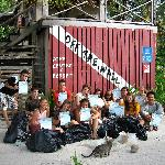 PADI Project Aware Reef Clean up