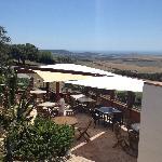 terraza con vista panoramica