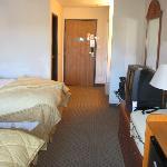 Nice sized room.
