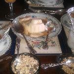 Pannacotta for breakfast