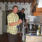 Canale - Cooking in the kitchen of apartment Margarita