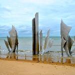 Monument at Omaha Beach