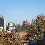 Vista do deck superior (sentido Godoy Cruz) - folhas de outono...