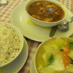 Yummi! Fish pieces, Thentuk and Jeera Rice
