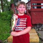 Kids loved bass fishing!