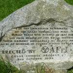 Pauper's Grave monument marker