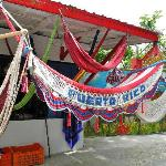 Puerto Rico Hammock at a gift shop along the way to the watch tower. Loved this!