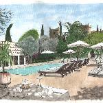 The Private Gardens of La Maison Arabe