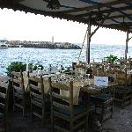 Dining on the pier