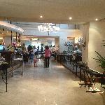 The restaurant from inside