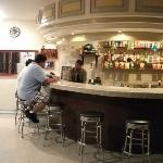Lefty's bar (downstairs near the restaurant area)