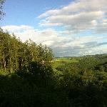 Sunny evening over Eden Valley