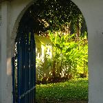 small gate to the Secret Garden