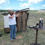 Trap shooting attempt