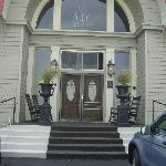 Front steps of B&B
