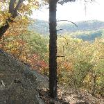The long view up river for Cacapon Ridge on Panorama Acres