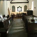 Inside St. Michael's.
