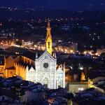 Santa Croce di notte