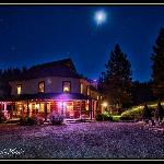 Pinehurst Inn by Moonlight