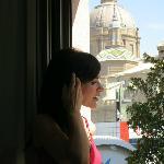 Fantástica vista del Pilar, desde la habitación