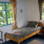 Twin bedded self-catering en-suite room