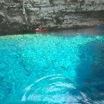 Melissani caves