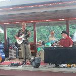 Band playing at the lake side party on Friday nights, complimentary beer, ice-cream, hot dogs an